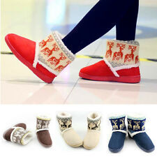 Hot Womens Ladies Girls Winter Warm Mid-calf Snow Cold Weather Boots Shoes