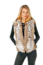 Johnny Collar Bobcat Lynx Vest