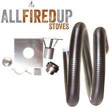 """Flexible Flue Liner Installation Kit 5 For Multifuel Wood Burning Stove 4"""" To 5"""""""