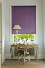 Plain Blackout Roller Blinds - 18 Colours - Various Sizes  - Thermal Properties