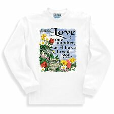 Christian SWEATSHIRT Love one another as I have loved you
