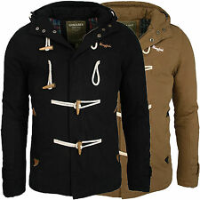 Young & Rich warme Herren Winter Jacke Duffle Mantel Parka Winterjacke NEU JK414