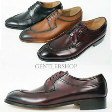 Mens Fashion Shoes Classic Split Toe Leather Oxfords Handmade 5422, GENTLERSHOP