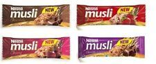 NESTLE MUSLI Cereal Muesli Bars 4 Different Flavors 40g Choose Your Favorite