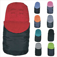 UNIVERSAL FIT FOOTMUFF COSY TOES - FOR BUGGY / PUSHCHAIR / PRAM