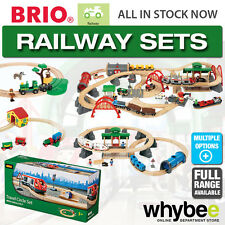 BRIO Railway Set Full Range of Wooden Train Sets Children Kids 22 to Choose From