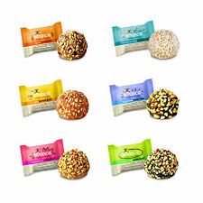 BOUNCE NATURAL ENERGY BALLS -HIGH PROTEIN WHEY BALL-GLUTEN FREE 12x42g FREE POST