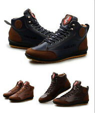 Men's Casual Winter Woolen Warm Lace up fashion Sneakers Shoes Ankle Boots