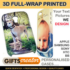 Personalised iPhone 4S,5S ,3GS, 5C Samsung S2,S3,S4,S5, & 3D Phone Case,Cover