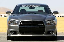"""MOPAR OUTLINED Letters Windshield Banner Decal 3"""" x 28"""""""