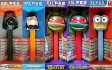 PEZ XXL-H.KITTY-ANGRY BIRD-TURTLES-SONGEBOB-MICKY-MINNIE- 30cm - Please select