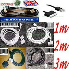 "1M 2M 3M LONG for Samsung Galaxy TAB 2 Tablet 7 8.9"" 10.1 USB Data Cable Charger"