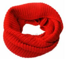 Nice Women's Winter Warm Infinity 2Circle Cable Knit Cowl Neck Long Scarf Shawl
