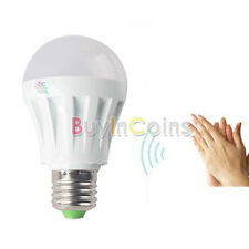 Low heat 3W 5W 7W E27 LED Sound and Light Sensor Induction Lamp Voice Control