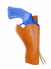 "NEW Barsony Tan Leather 49-er Style Gun Holster for Taurus 4"" Revolvers"