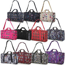 5 Cities Hand Carry On Cabin Luggage Flight Bag Holdall Fits Ryan Air EasyJet