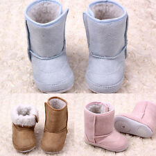 Baby Unisex Warm Winter Snow Boots Shoes Boys Girl 6-24 Months Infant Toddler