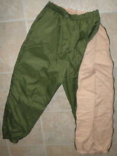 British Army Softie Trousers Thermal Reversible Stuff Sack fishing Warm Used