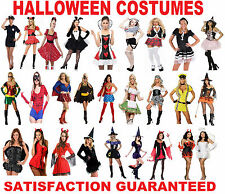 Womans Halloween Costumes Ladies Fancy Dress Outfit Party Adult New Girls Size
