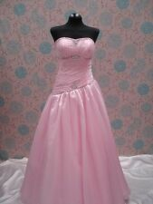 6385 pink Cheap Graduation Party Evening Ball Gown Prom Dresses uk in stock