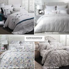 PLATINUM LOGAN AND MASON Doona Quilt Cover Set Double Queen King Super King Bed