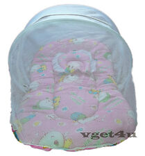 Baby Bed Tent Baby Bedding with Mosquito Net and Pillow New Born Gift