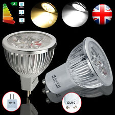 4/8/10 x 6W MR16 GU10 LED Bulbs Spotlight Lamps High Power Light Energy Saving