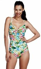 Sunseeker Pacifica Multi Fit Rouch Maillot One Piece Swimsuit RRP $169.95