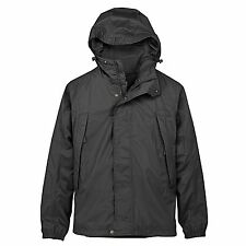 Timberland Men's Ragged Mtn. Packable Waterproof Black Jacket Style #5456J