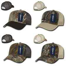 1 Dozen Realtree Camouflage Camo Curve Bill Trucker Hats Hat Cap Caps Wholesale