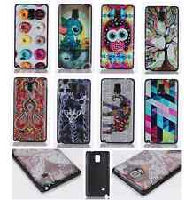 Fashion Pattern Painting Hard Case Cover Skin For Samsung Galaxy Note 4 N9100
