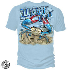New MARYLAND CRAB BLUE CLAW T SHIRT