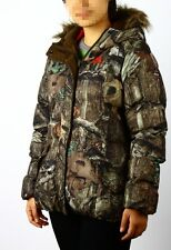 NEW STYLE! MOSSY OAK infinity Women's Camo Bubble Insulated Parka Jacket S- XL