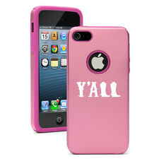 For iPhone 6/6 Plus Aluminum Silicone Hard Case Cover Y'all Boots Cowboy Cowgirl