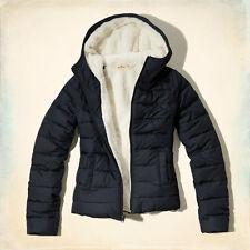 HOLLISTER WOMEN'S NORTH JETTY PUFFER JACKET SIZES S , M , L