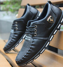Mens Winter Warm Casual Leather High Top Loafers Shoes Ankle Boots Sneakers M820