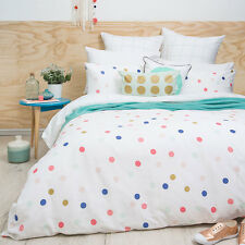 Bambury CONFETTI Duvet Doona Quilt Cover Set - Single Double Queen King Size Bed
