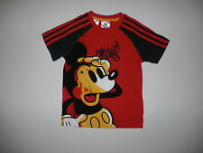 Adidas Infants Walt Disney Mickey Mouse 3 Stripe T-Shirt Age 2-3 to 6-7 Years