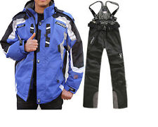 NEW Men's winter ski suit Jacket + Pants Waterproof Coat snowboard Clothing