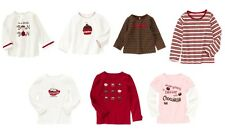 nwts 2t 3t 4 5 6 7 U Pic Sweet Treats Bon Bons Cupcake Chocolate Gymboree top