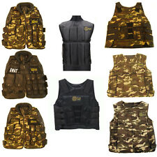 TACTICAL VESTS ARMY AIRSOFT BBGUNS ASSAULT CHEAP COMBAT SWAT POLICE ADJUSTABLE
