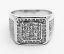 Sterling Silver 925 with Stones Men's Ring