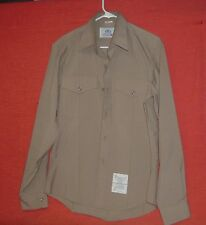 MARINE CORPS USMC ALPHA SERVICE C LONG SLEEVE UNIFORM SHIRT WITH RANK
