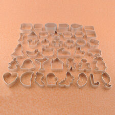 U Pick 3D Metal Biscuit Fondant Cake Cookie Jelly Cutter Mold DIY Baking Tool