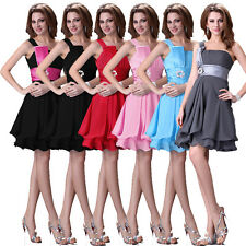 FREE SHIP~ Short Party Bridesmaids Evening Prom Formal Girl Lady Dance Dresses l