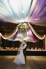 "54""x120 FT (40 yards) TULLE Bolt Wedding Decoration Pew Bow Craft Favor Fabric"
