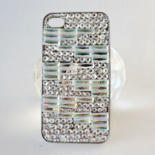 Shining Bling Diamond Glitter Crystal Rhinestone Case Cover for iPhone 4 4G 4S