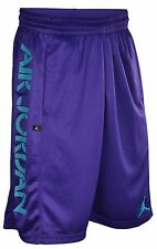 Air Jordan Bright Lights Mens Basketball Shorts Bright Purple/Aqua  #534820-560
