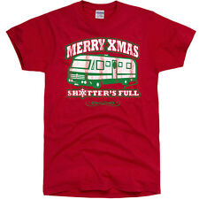 Merry Christmas Shitter's Full ugly xmas vacation sweater griswold funny T-Shirt