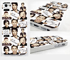 case,cover fits iPhone and samsung models 1D ONE DIRECTION/four/motivation/Niall
